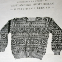 Men´s jacket in Selbu Pattern