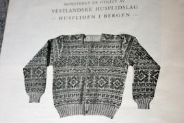 Men´s jacket in Selbu Pattern