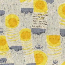 Itsy Bitsy in Grey/Nursery Versary by Heather Ross