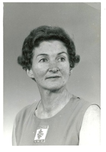 Gerda as head of Haugesund Gymnastics Association ´64