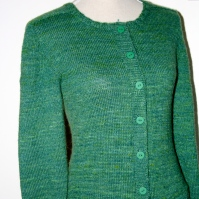 "Gerda´s Cardigan in ""Bitter Bug"""