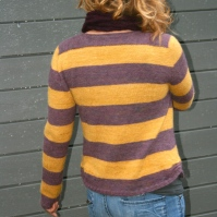 Gerda´s Cardigan in Mystery/Pumpkin Pie