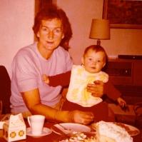 Mormor and me, ´70