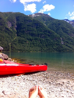 The Fjærlandsfjord from Dista
