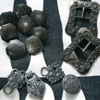 Traditional Norwegian buttons